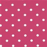 Samolepiace tapety bodky ružové 45 cm x 15 m