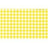 Samolepiace tapety káro žlté 45 cm x 15 m