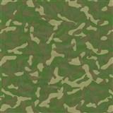 Samolepiace tapety maskáč zeleno-hnedý 45 cm x 15 m