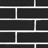 Samolepiace tapety tehla čierna 45 cm x 15 m