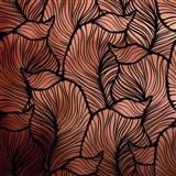 Samolepiace fólie listy medeno-čierne - 45 cm x 5 m
