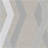 Vliesové tapety na stenu IMPOL Giulia 3D hrany hnedé