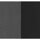 Vliesové tapety na stenu Glamour kolieska strieborné na čiernom podklade
