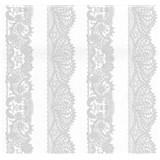 Vliesové tapety na stenu Glamour čipka strieborná na bielom podklade