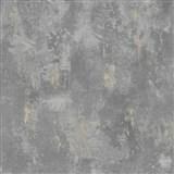 Vliesové tapety na stenu betón sivý s patinou