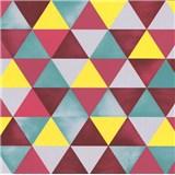 Vliesové tapety na stenu Graphics Alive geometrický vzor farebný