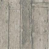 Vliesové tapety na stenu Imagine drevený obklad hnedý s výraznou štruktúrou