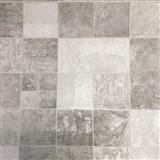 Vinylové tapety na stenu IMPOL obkladový kameň Travertin sivý