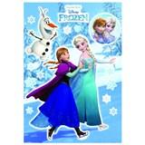 Samolepky na stenu Disney Frozen Anna & Elsa rozmer 50 cm x 70 cm