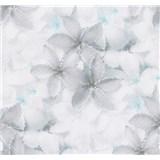 Vliesové tapety na stenu G. M. Kretschmer kvety modro-zelené