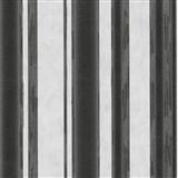 Vliesové tapety na stenu G. M. Kretschmer II pruhy čierno-biele