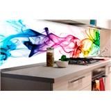 Samolepiace tapety za kuchynskú linku dym farebný rozmer 180 cm x 60 cm