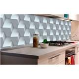 Samolepiace tapety za kuchynskú linku 3D kocky rozmer 180 cm x 60 cm