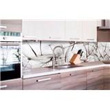 Samolepiace tapety za kuchynskú linku lietajúce púpavy, rozmer 260 cm x 60 cm