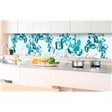 Samolepiace tapety za kuchynskú linku kocky ľadu rozmer 350 cm x 60 cm