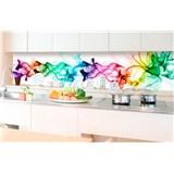 Samolepiace tapety za kuchynskú linku dym farebný rozmer 350 cm x 60 cm