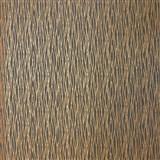 Luxusné vliesové tapety na stenu LACANTARA vlnovky medené na sivom podklade