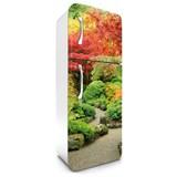 Samolepiace tapety na chladničku jesenná záhrada rozmer 180 cm x 65 cm