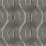 Luxusné vliesové tapety na stenu Colani Legend preplietané vlny hnedé