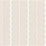 Luxusné vliesové tapety na stenu Colani Legend splietané pruhy hnedé na bielom podklade