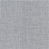 Vliesové tapety na stenu IMPOL Luna textilná štruktúra čierno-sivá so strieborným ligotom