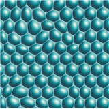 Vliesové tapety na stenu Harmony in Motion by Mac Stopa 3D bubliny tyrkysové