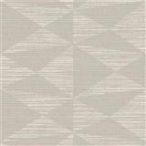 Luxusné vliesové  tapety na stenu Madison kubistický vzor svetlo hnedý s metalickými odleskami