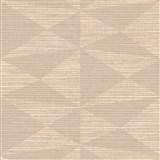 Luxusné vliesové  tapety na stenu Madison kubistický vzor hnedý s metalickými odleskami