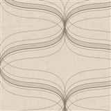 Vliesové tapety na stenu La Veneziana - strieborný ornament s metalickým efektom