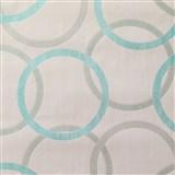 Vliesové tapety na stenu Summer Special - kruhy modré