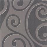Vliesové tapety na stenu Di Moda Secesia modro-fialová