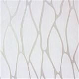 Vliesové tapety na stenu Homestory abstraktné elipsy krémové