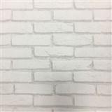 Vliesové tapety na stenu tehla sivá