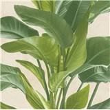 Vliesové tapety na stenu IMPOL Metropolitan Stories listy zelené