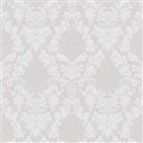 Vliesové tapety na stenu Mixing ornamenty biele na sivom podklade - POSLEDNÉ KUSY