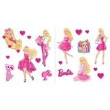Samolepky na stenu detské - Barbie 30 x 40 cm