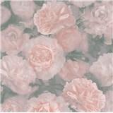 Vliesové tapety IMPOL New Studio kvetinový vzor ružový