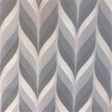 Vliesové tapety na stenu Einfach Schoner 3 retro vzor modro, sivo, biely