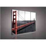 Obraz na plátne Golden Gate Bridge 120 x 100 cm