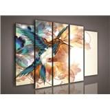 Obraz na plátne kolibrík 150 x 100 cm
