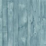 Vliesové tapety na stenu Origin - drevené dosky zeleno-modré