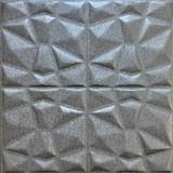 Samolepiace penové 3D panely rozmer 70 x 70 cm, diamant sivý AKCIA