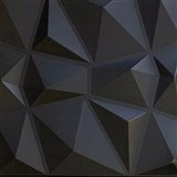 3D panel XPS DIAMANT čierny rozmer 50 x 50 cm