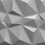 3D panel XPS DIAMANT strieborný rozmer 50 x 50 cm
