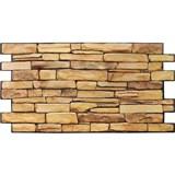 Obkladové 3D PVC panely rozmer 980 x 498 mm kameň prírodný