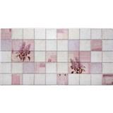 Obkladové 3D PVC panely rozmer 964 x 484 mm kvety orgovánu