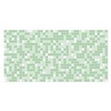 Obkladové 3D PVC panely rozmer 955 x 480 mm mozaika zelená