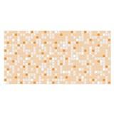 Obkladové 3D PVC panely rozmer 955 x 480 mm mozaika oranžová