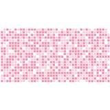 Obkladové 3D PVC panely rozmer 955 x 480 mm mozaika ružová