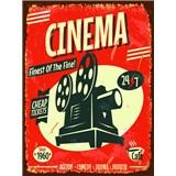 Retro tabule Cinema 40 x 30 cm